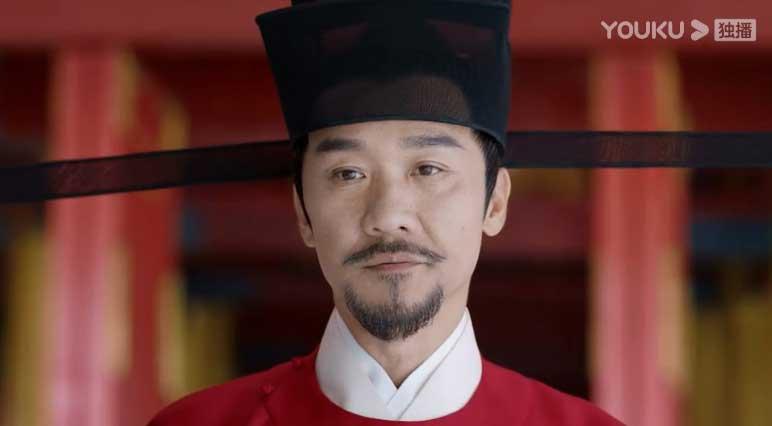 Royal Nirvana: Hung Zhi Jian stares at something