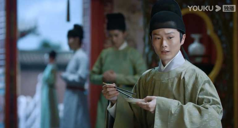 Royal Nirvana: Zhao Prince eats fish